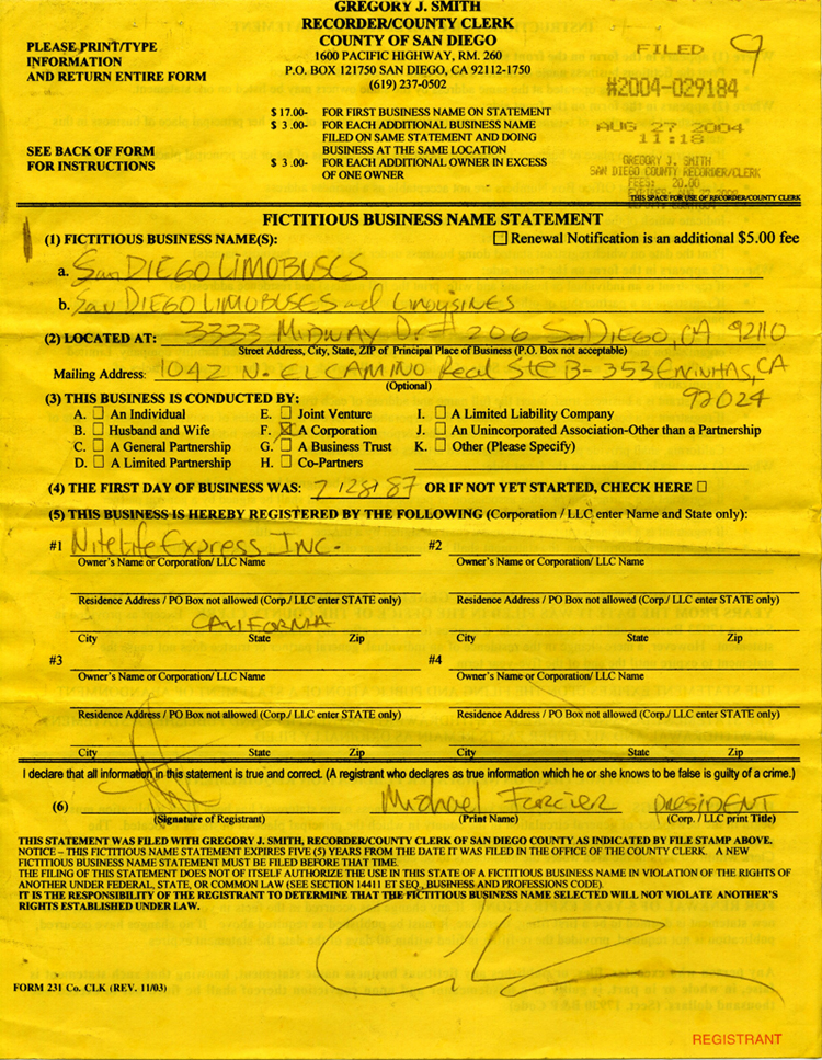 fictitious certificate diego county filing